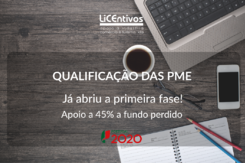 Sistema de Incentivos - Qualificação das PME do Portugal 2020
